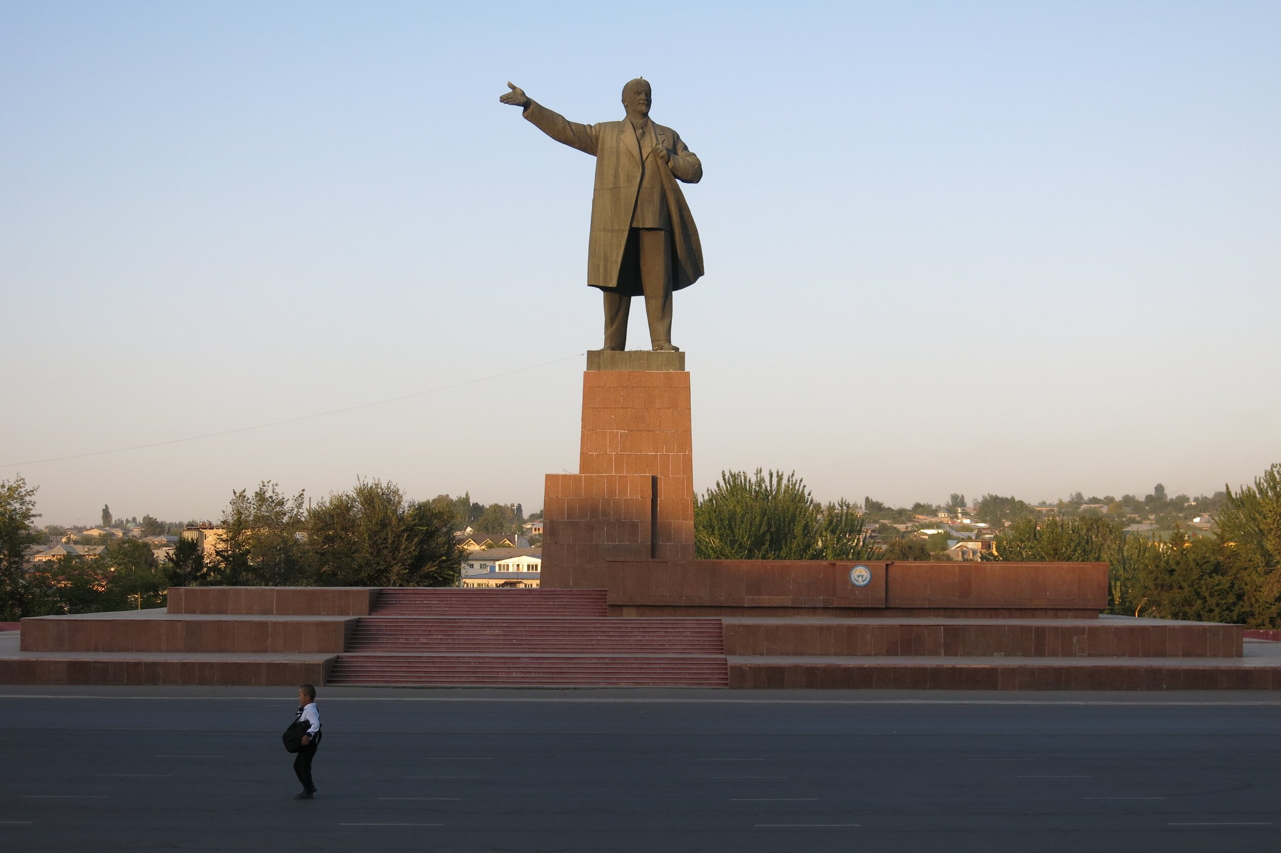 Lenin in the centre of Osh. PHOTO: ISOBEL EWING