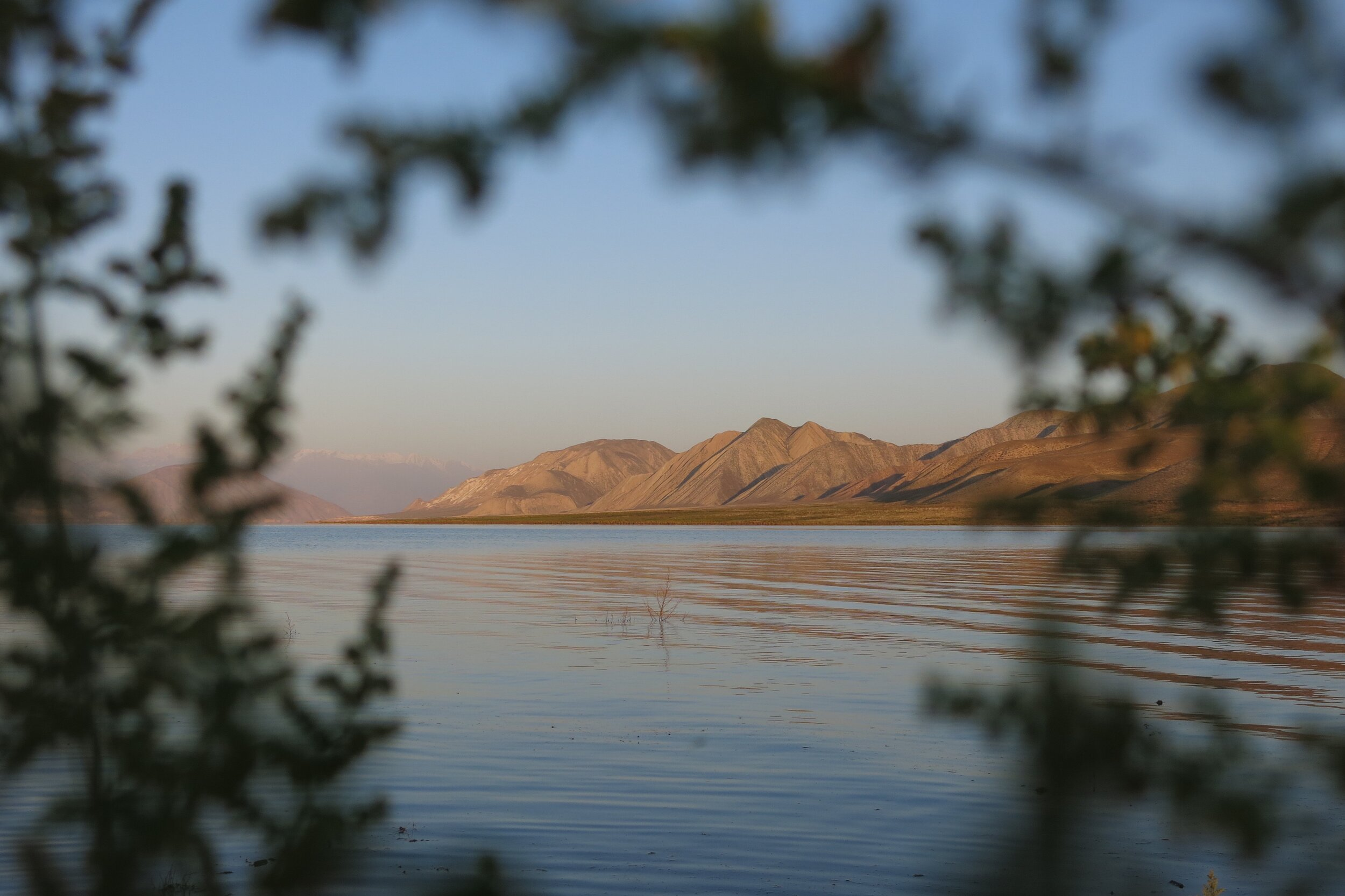 Toktugul Lake. PHOTO: ISOBEL EWING