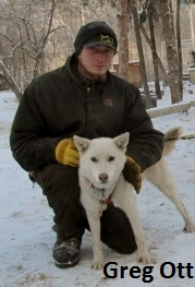 Greg Ott sled dog guide Alaska Yukon