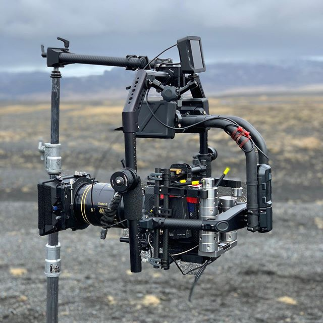 After a long travel we made it to Iceland for The Search. The Movi held its own against the 50+ mph winds in Iceland.