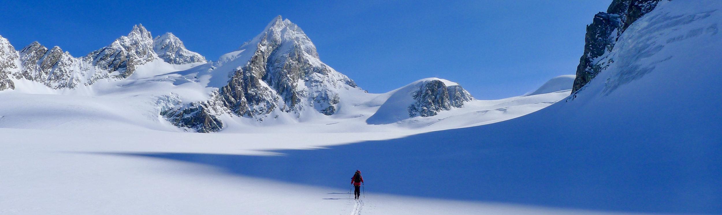 Day 5 of the classic Chamonix - Zermatt Haute Route