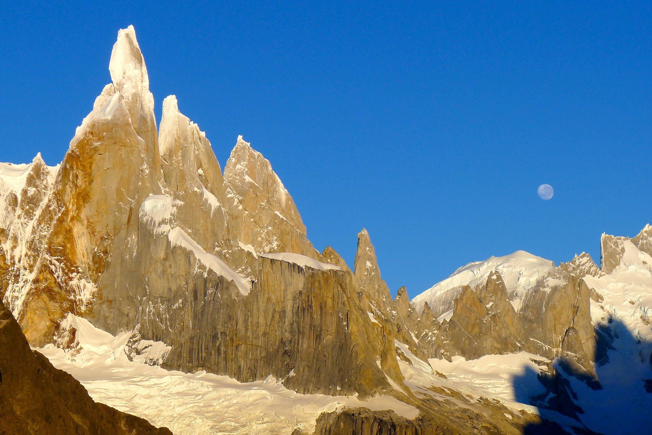 The Cerro Torre Spires of Patagonia