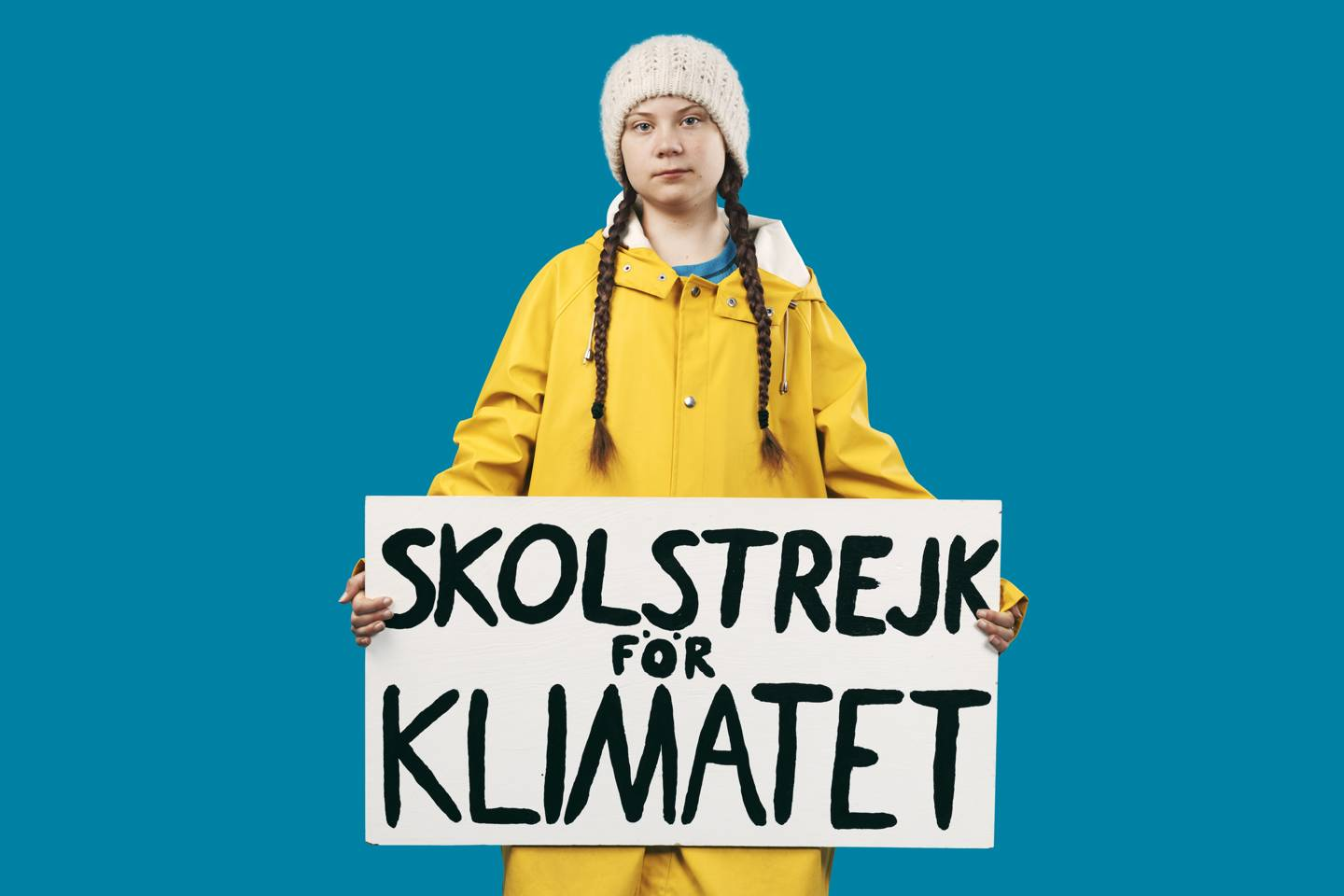 16-year-old Greta Thunberg has mobilised millions of young people to demand action on the world's climate crisis. Credit:  AORTA