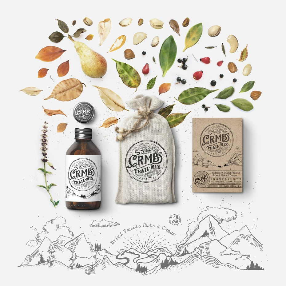 Product packaging design by    Martis Lupus