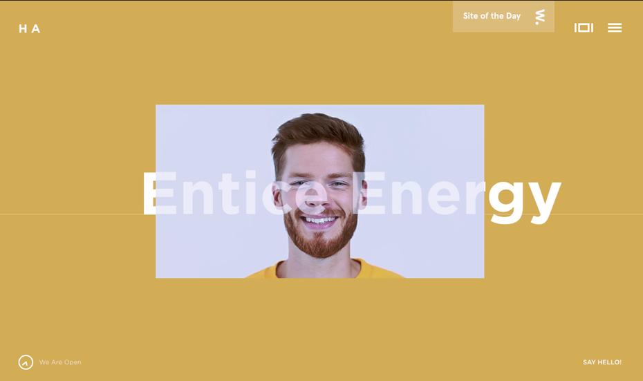 Web page design by    HA – interactive brand studio