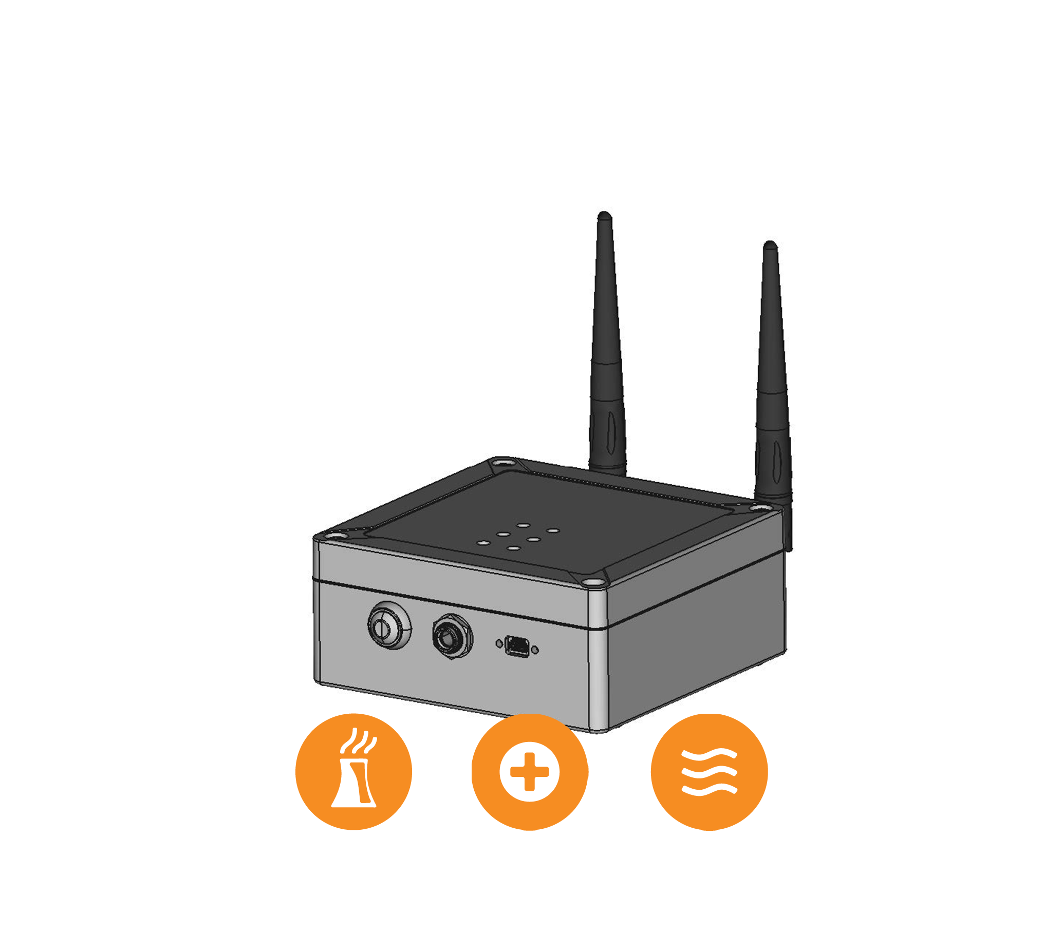LINK2-Repeater - The Link2-Repeater is a wireless repeater radio that combines two wireless transceivers to increase the wireless range of in-field wireless devices, sensors and…