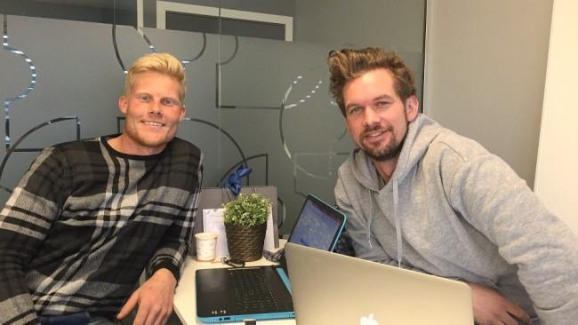 Stian og Rune, gutta mine