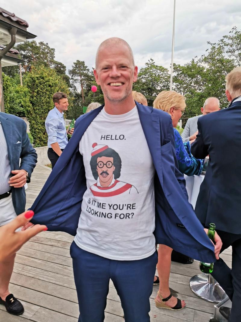 Morsomme Are Kalvø…..med sin utrolig hyggelig kone som jeg dessverre ikke fikk med på bilde