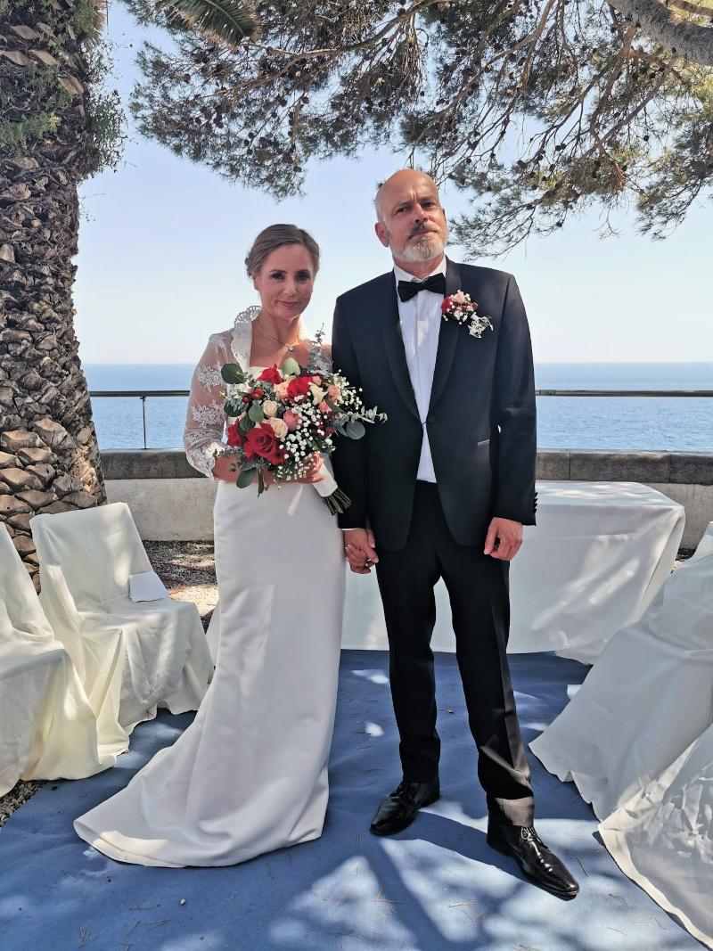 Endelig gift, Christine og Kjetil