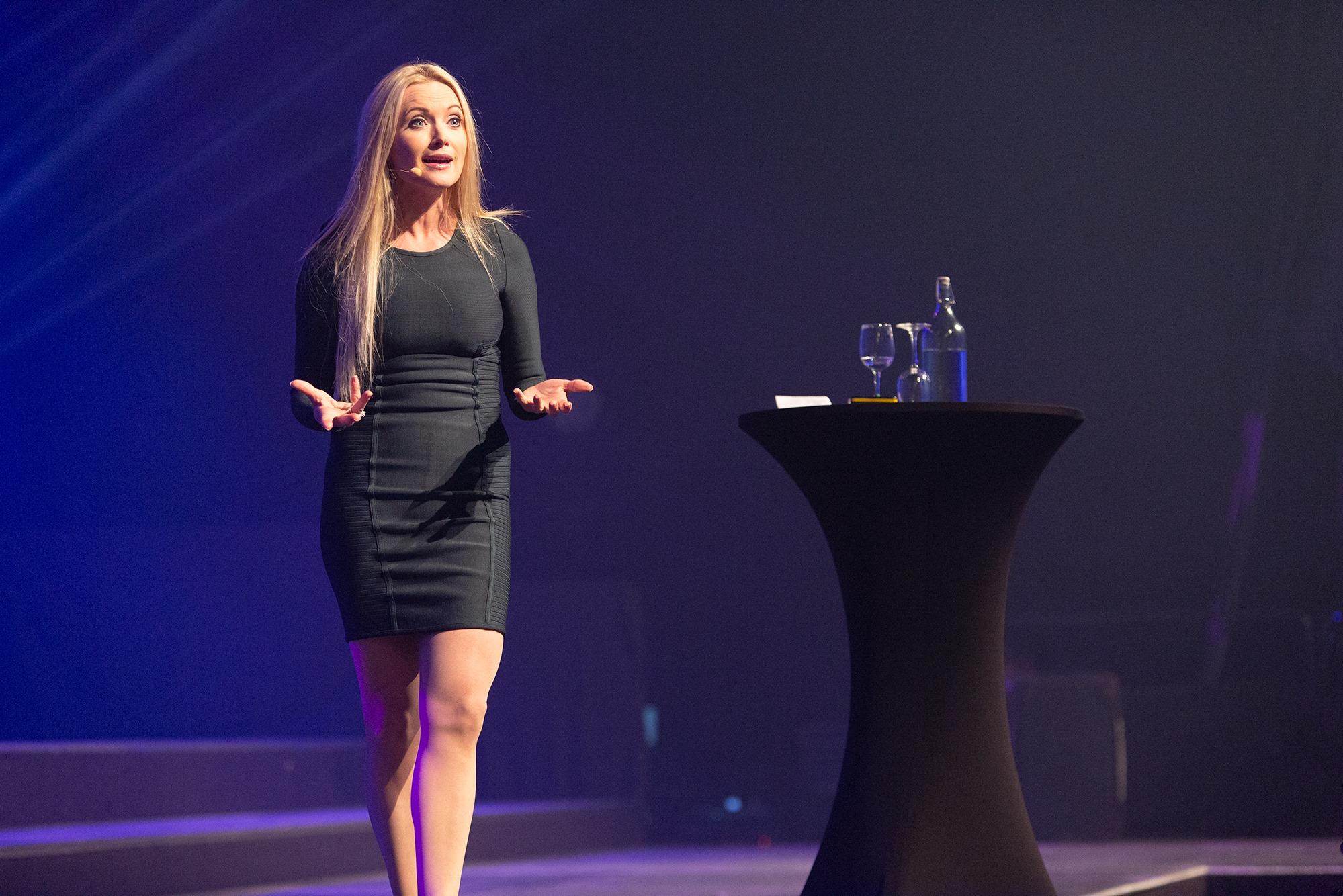 Hilde Rismyhr Sæle var rå på scenen