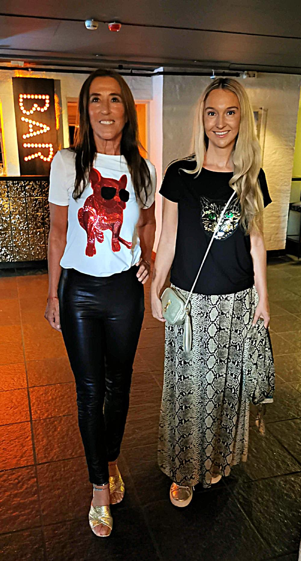 Jasmin og Pia Haraldsen, altfor LENGE siden sist Pia!