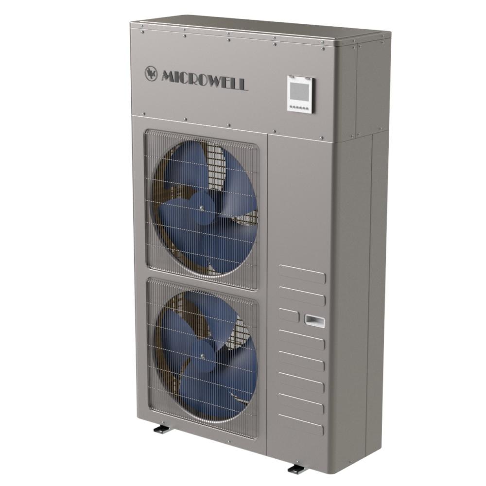 Entdecken Sie unsere kompakten Wärmepumpen -