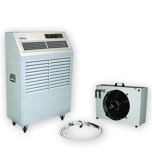 Klimageräte - Mobile Kälte - Wassergekühlte mobile Klimageräte für jeden Einsatz.