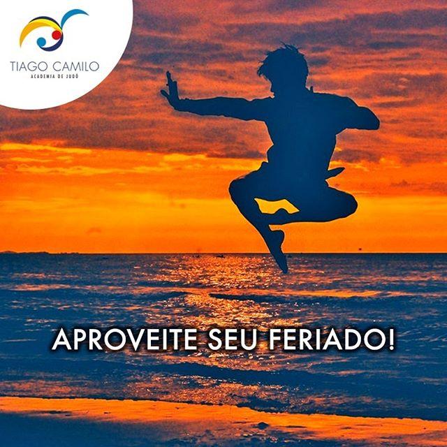 Curta cada minuto do seu feriado, fazendo o que você mais ama! 😄 ⠀ 🥋Tiago Camilo Academia R. Dr. Alceu de Campos Rodrigues, 342 - Vila Nova Conceição, São Paulo Mapa: http://bit.ly/TiagoCamiloAcademia (11) 3473-9213 www.tiagocamiloacademia.com.br ⠀ #judo #tiagocamilo #academia #esporte #campeao #saude #adultos #crianças #saopaulo #tiagocamilometodologia