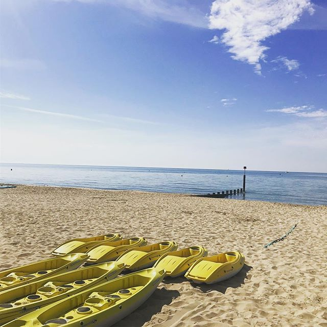 What better way to enjoy the summer then from a kayak | Hire available 7 days a week | 01202300668 . . . . . . @bicsport @bic_sport #kayaking #summertime #summer #beachdays