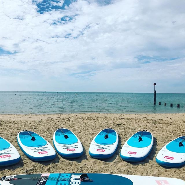 Fancy a learning a new sport this year? Come see us for a paddle board or surf lesson.  Number in Bio . . . . . . . @redpaddleco @oneill #surfing #paddleboarding @surfingengland #learntosurf