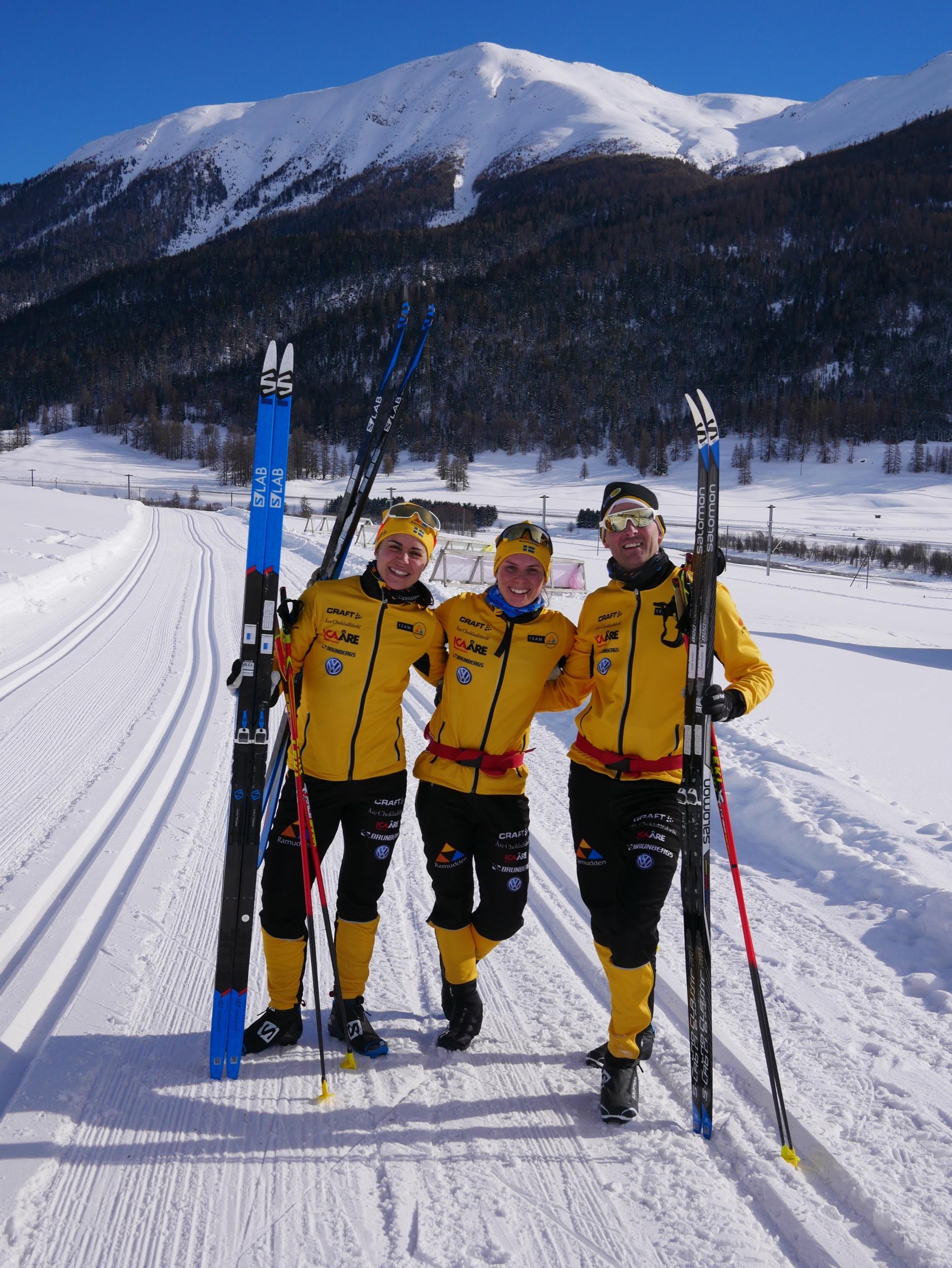 Delar av Team Ramudden som vi har fått joina i vinter!