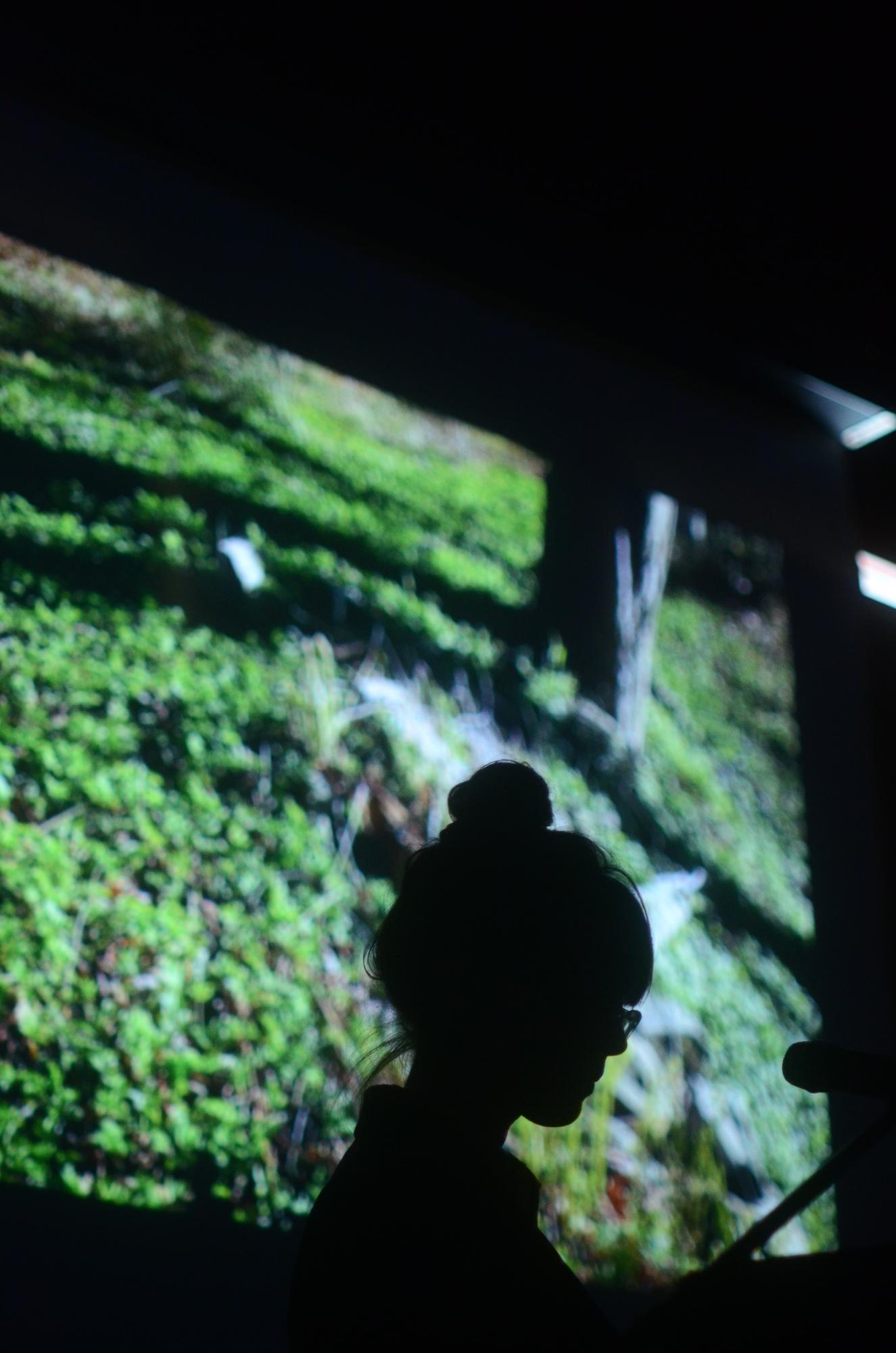 "D'Arcy Wilson, ""The Memorialist: Keynote Address,"" 2017. Photo: Will Baker."