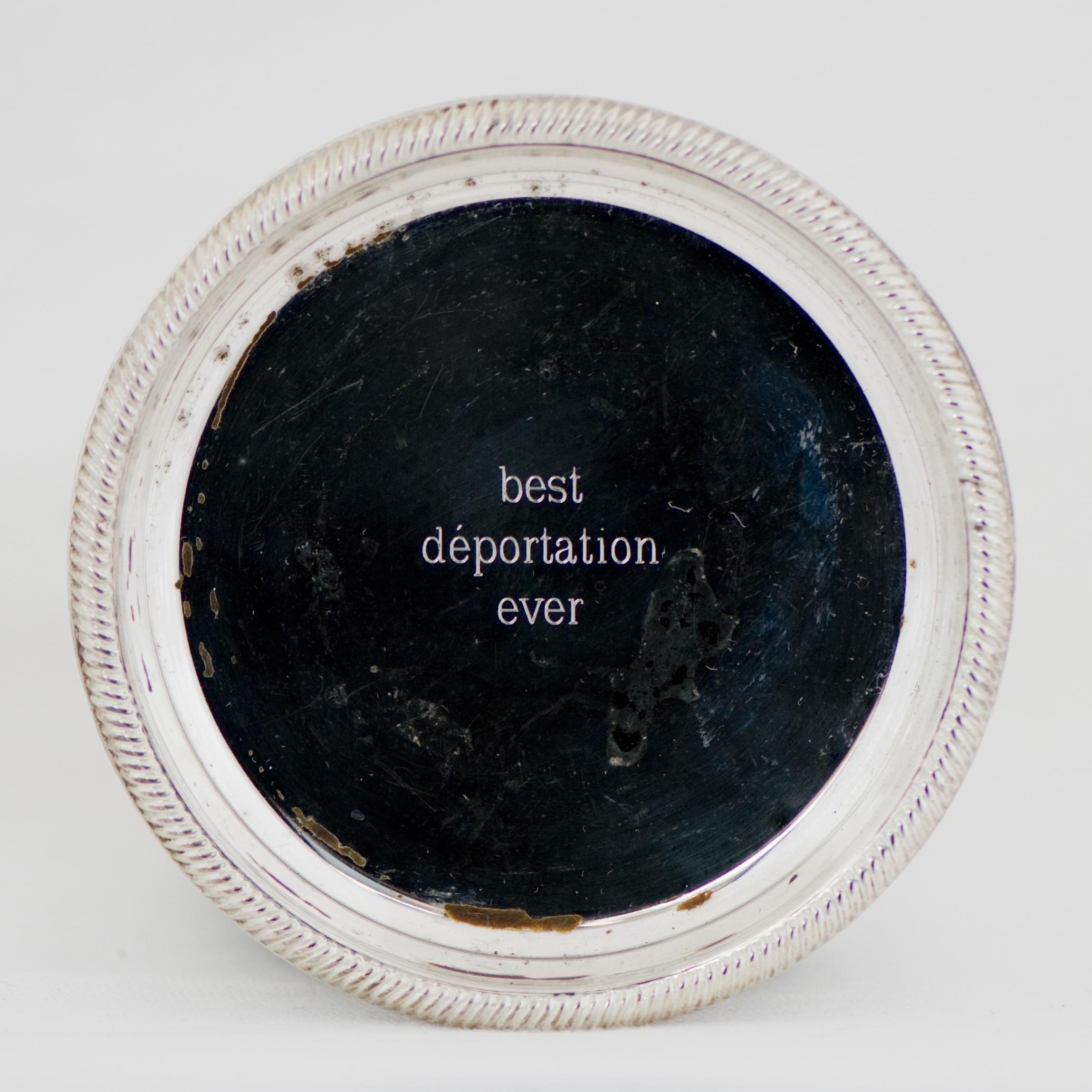 Mathieu Léger  Sur un plateau d'argent / On a Silver Platter