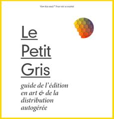 """ARCA  """"Le Petit Gris"""" Lancement du livre & Plenary"""