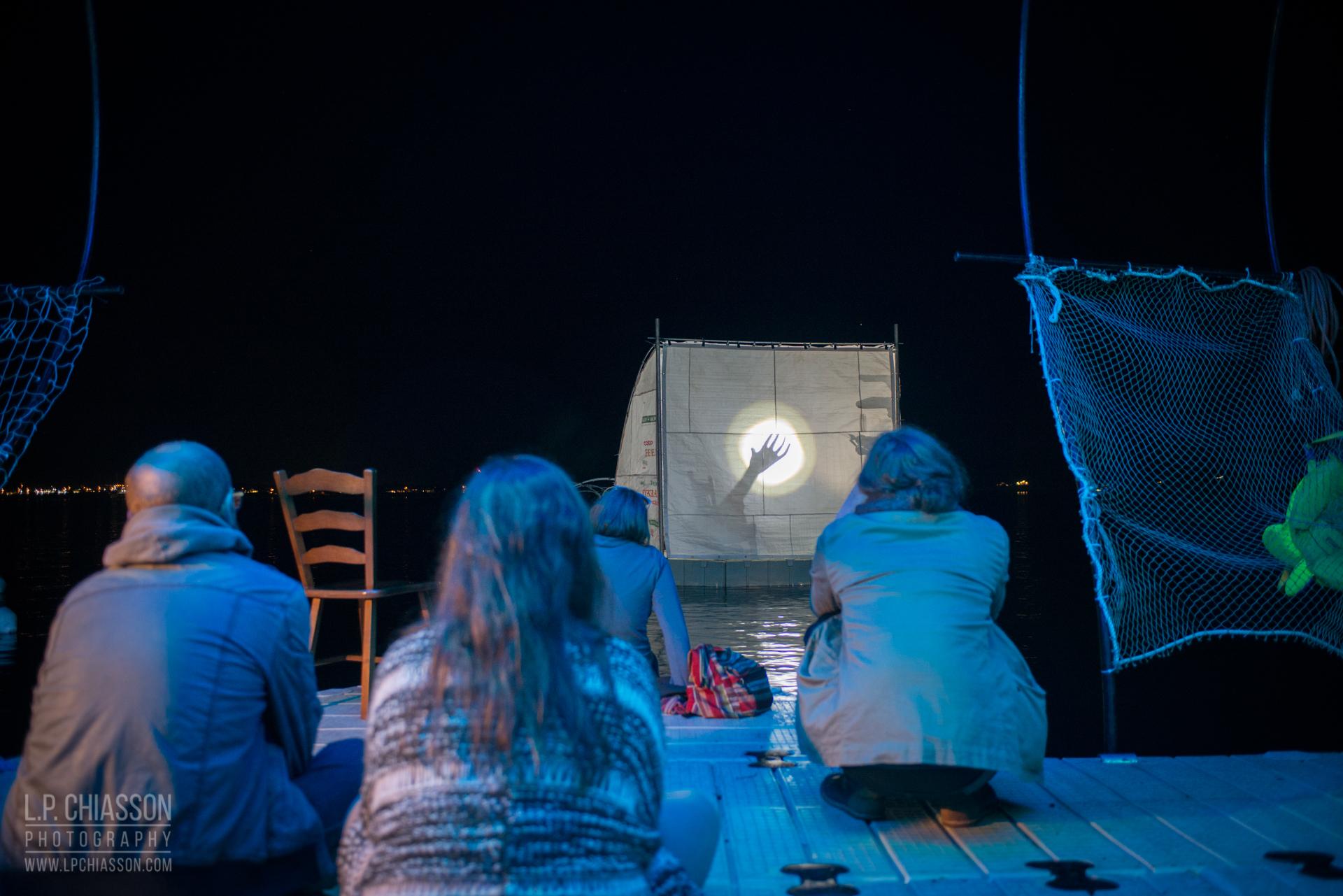 Floating Warren Pavilion. Photo: LP Chiasson & Festival Inspire.