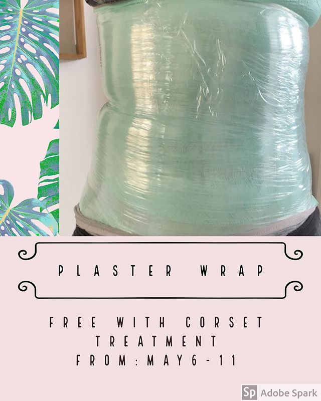 Plaster Wrap! Don't miss out the special for Mother's Day! #lymphaticdrainage #maderabc #woodtherapy #abetteryou #losangeles #santamonica #studiocity #beverlyhills #corsettreatment #nolovehandles #summerready #smallerwaist #topofgame