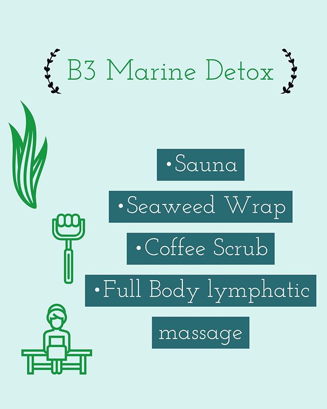 Flush out those toxins with our Marine Detox!  Call to book an appointment! (213)908-3490 or msg us #corsettreatment #hourglasstreatment #silkylegs #fullbodydetox #marinedetox #plasterwrap #coffeescrub #sauna #madera_bc #summertime fine #studiocity #losangeles #woodtherapy #cellulitegone #mybodymybusiness #summerbodygoals