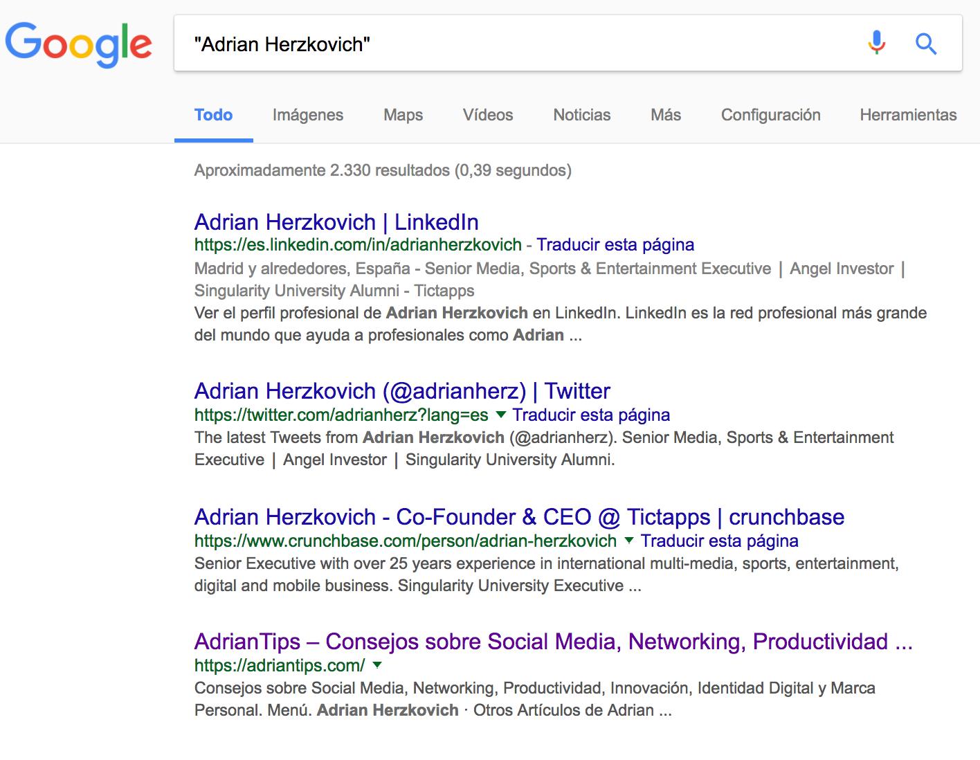Adrian Herzkovich - Google - All
