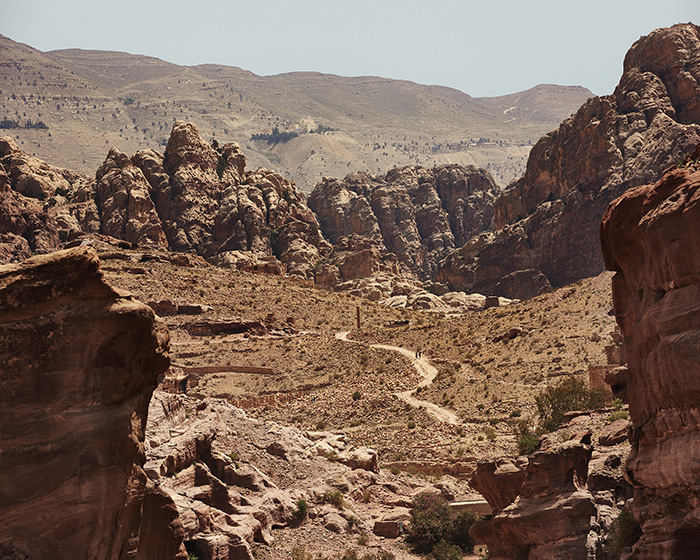 This shot from Petra in Jordan did involve quite a bit of hiking to get to, but is another example of how going slightly higher up on a trail can really open up a view for you.