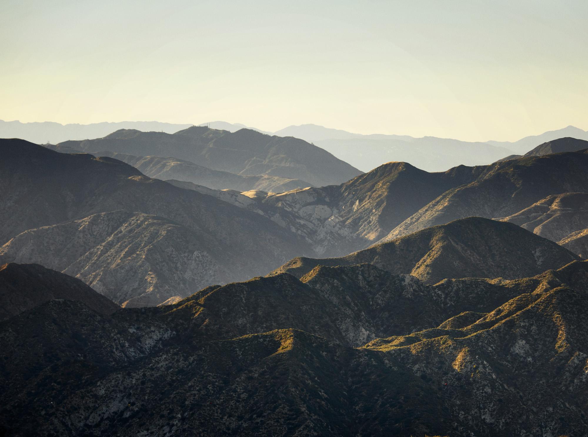 San Gabriel Mountains, California