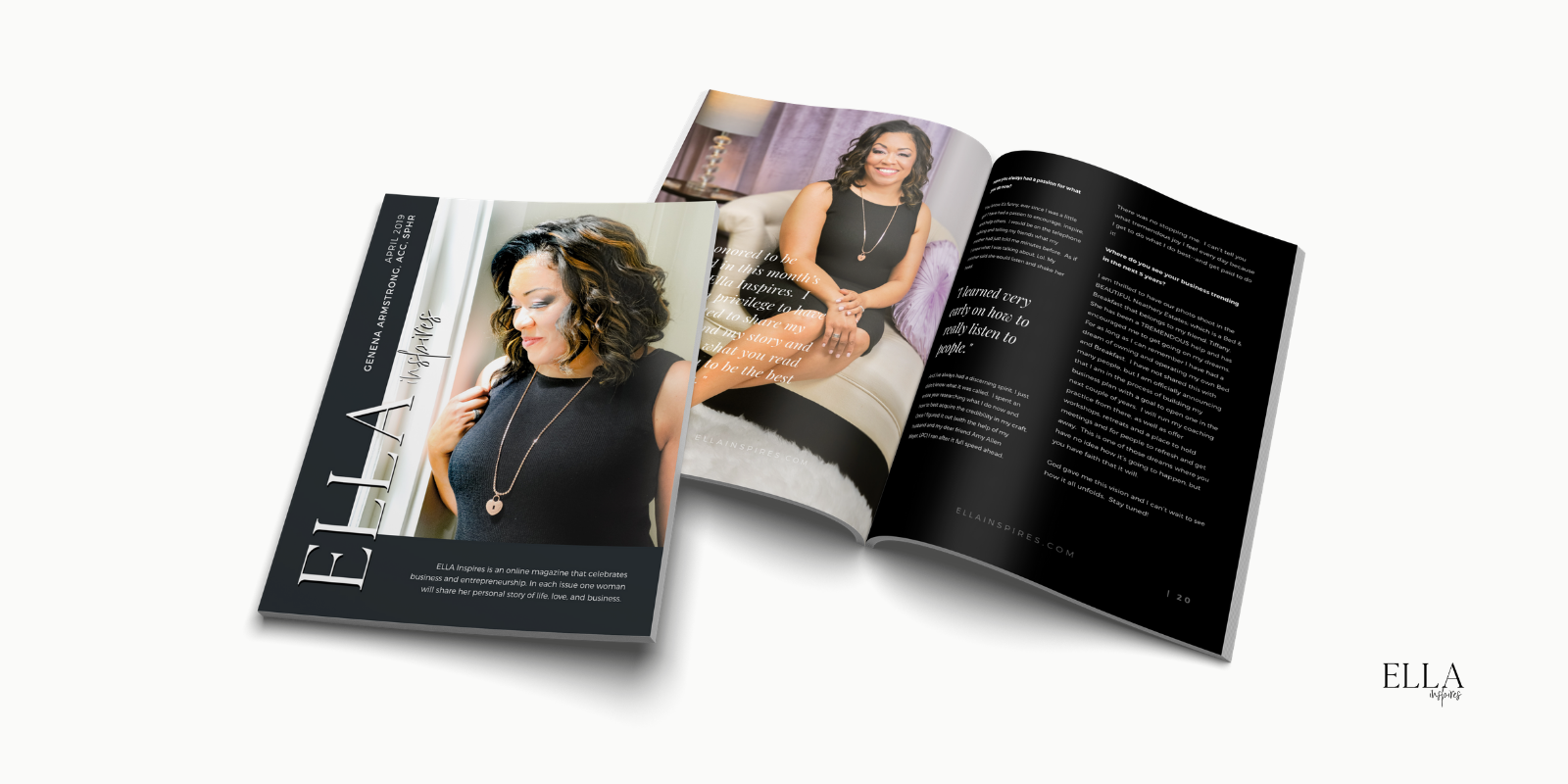 GET IT IN PRINT! - Click here to Subscribe to ELLA Inspires or,