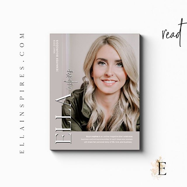 The newest edition of ELLA Inspires magazine is officially LIVE! We are an online magazine for #womeninbusiness. Each edition features a new inspiring #bossbabe. Read the magazine online, link in bio! .⠀ . A very special thanks to Jennifer Bourgeois (@jenbourgeoistx ) for allowing us to feature her story. I'm certain you'll be inspired! And another big thank you to the wonderful ELLA #beautysquad! You girls are the best! ⠀ ⠀ 💄@chelseamichelle_ckiss⠀ 👗@tmdstyleboutique. 👱🏼♀️ @hairbydemirowe. 💪🏼@serious_abby_tude_ . . . #ellainspires #thisisherstory #girlbosstribe #empoweredwomenempowerwomen #dallaswomenentrepreneurs #hustleandheart #bossbabe #ladypreneur #girlswhowork #womeninspiringwomen #professionalwomen #womeninbusiness #mckinneywomenentrepreneurs #dallaswomenentrepreneurs #thisisherstory #dallasmagazine #digitalmagazine #printmagazine #womensmagazine #cover
