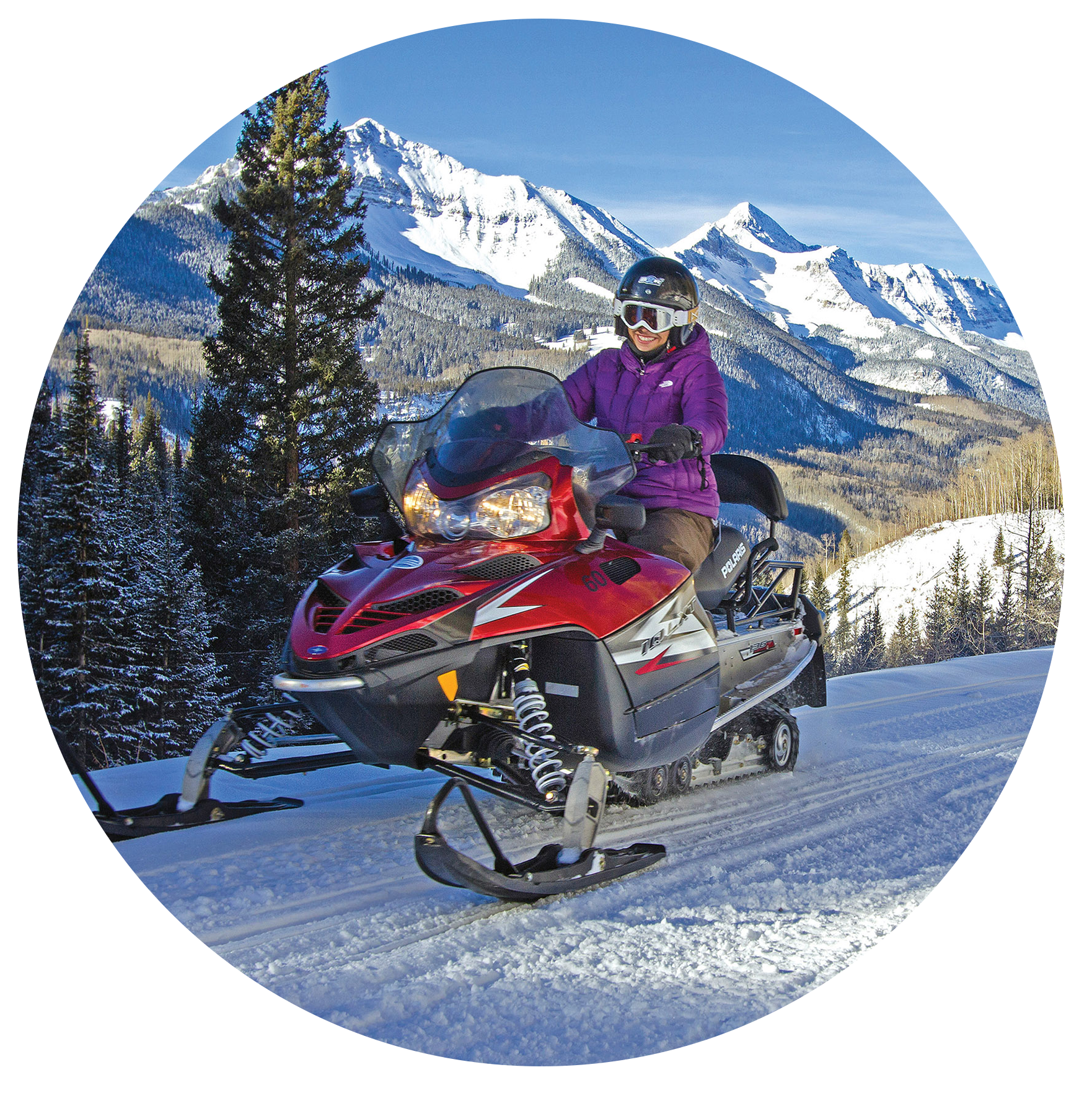 Single Rider for Snowmobile Tours