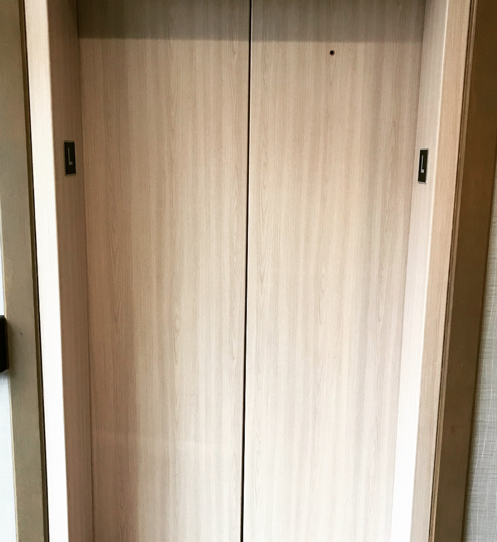 Elevator Door Wrap after