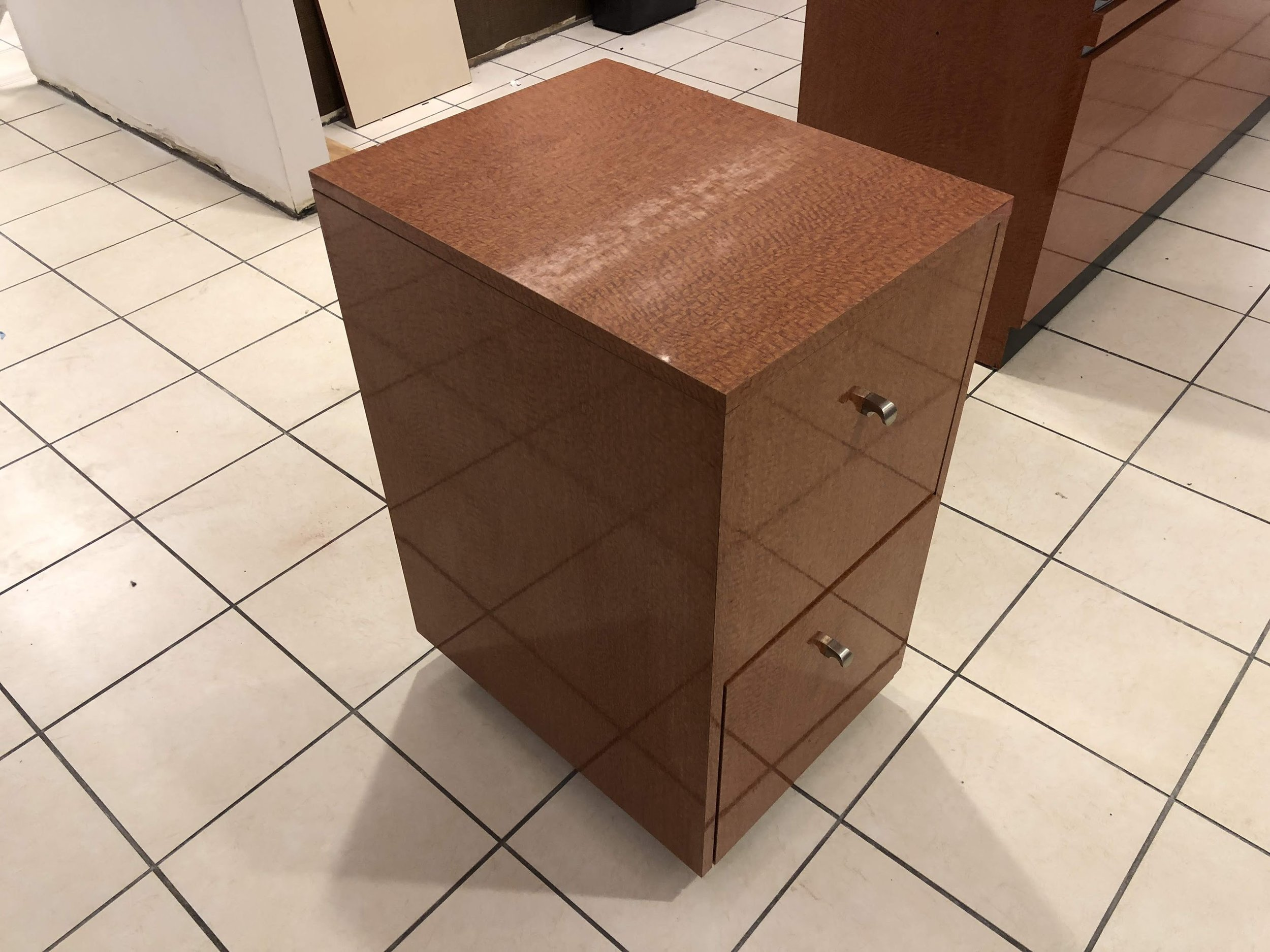 Before File Cabinet Wrap