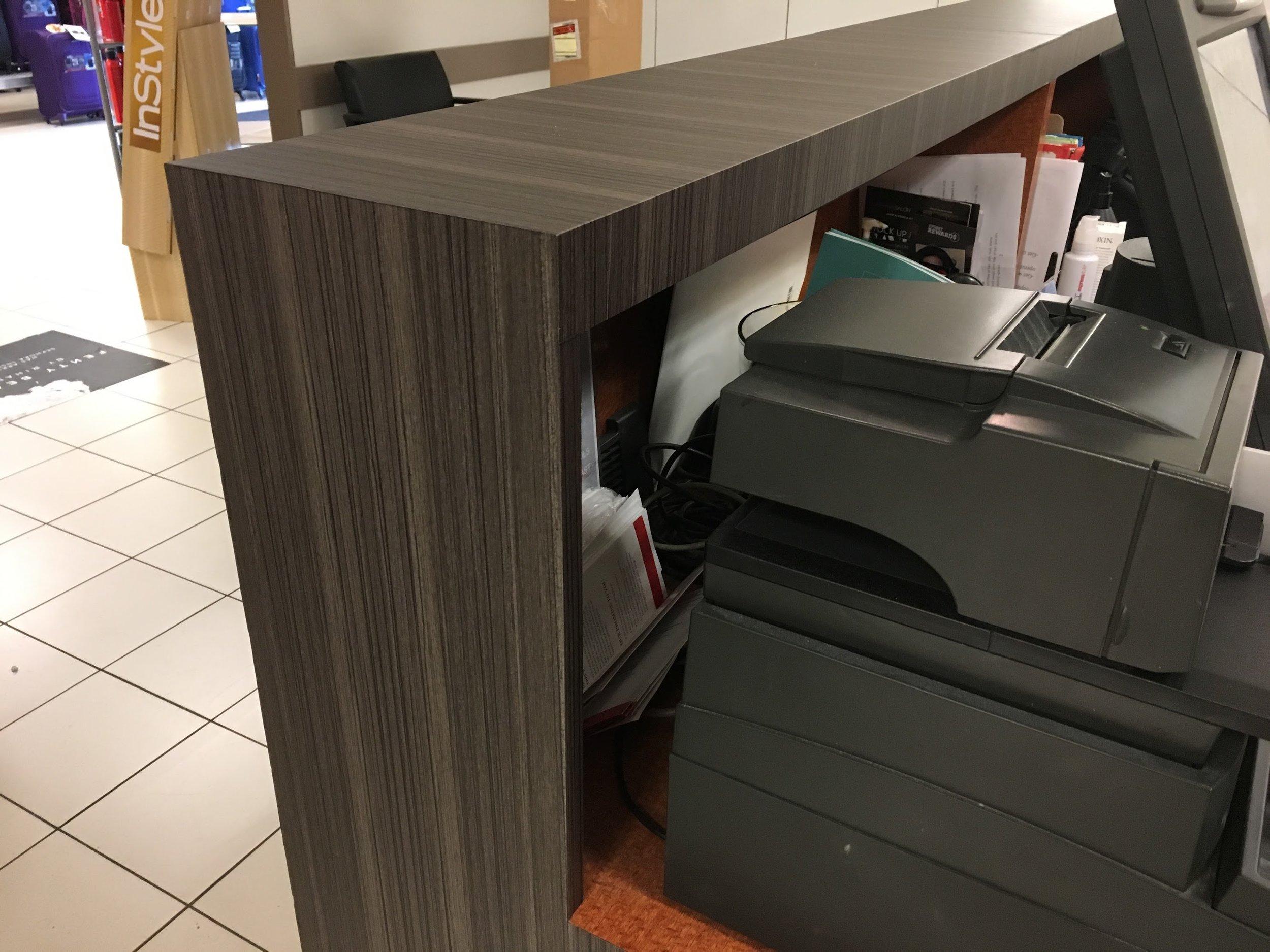 JCPenney Salon Front Desk Wrap