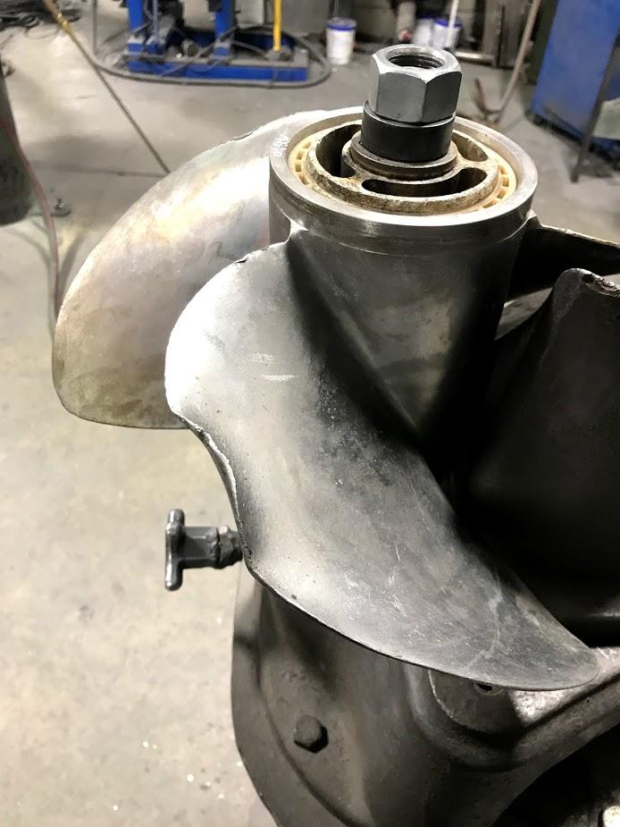 Step 2: Hammer and straighten bends