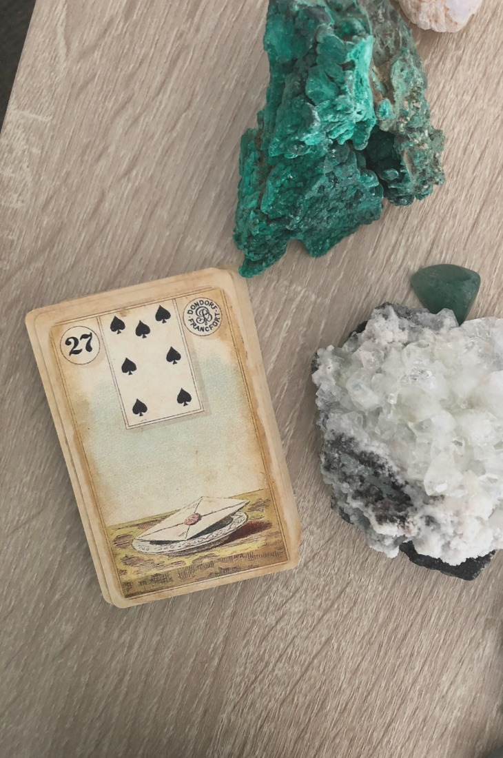 Lenormand Letter card meanings and interpretations. Learn how to read the Lenormand Letter card for general, love, business, money, health and other types of readings. In Lenormand decks, Letter is a card which represents communication in relationships