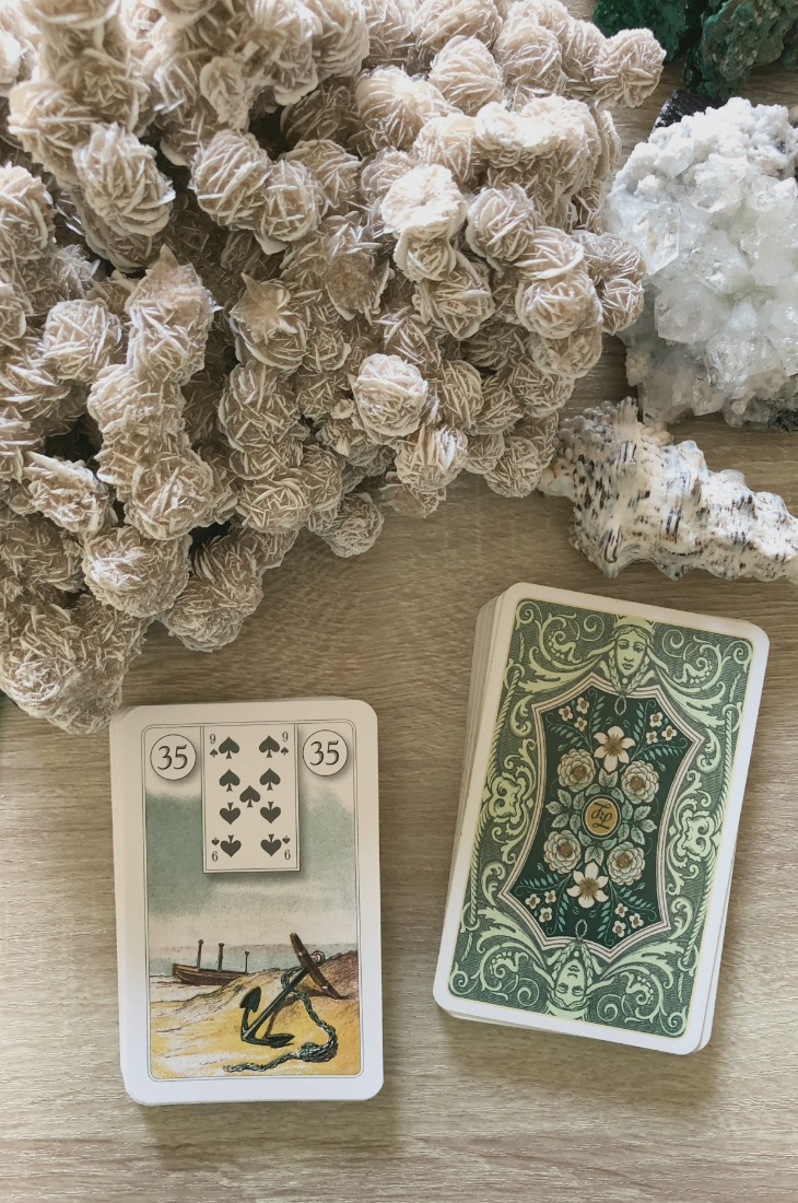 Lenormand Anchor card meanings and interpretations. Learn how to read the Lenormand Anchor card for general, love, business, money, health and other types of readings. In Lenormand decks, Anchor is a card which represents stability in relationships.