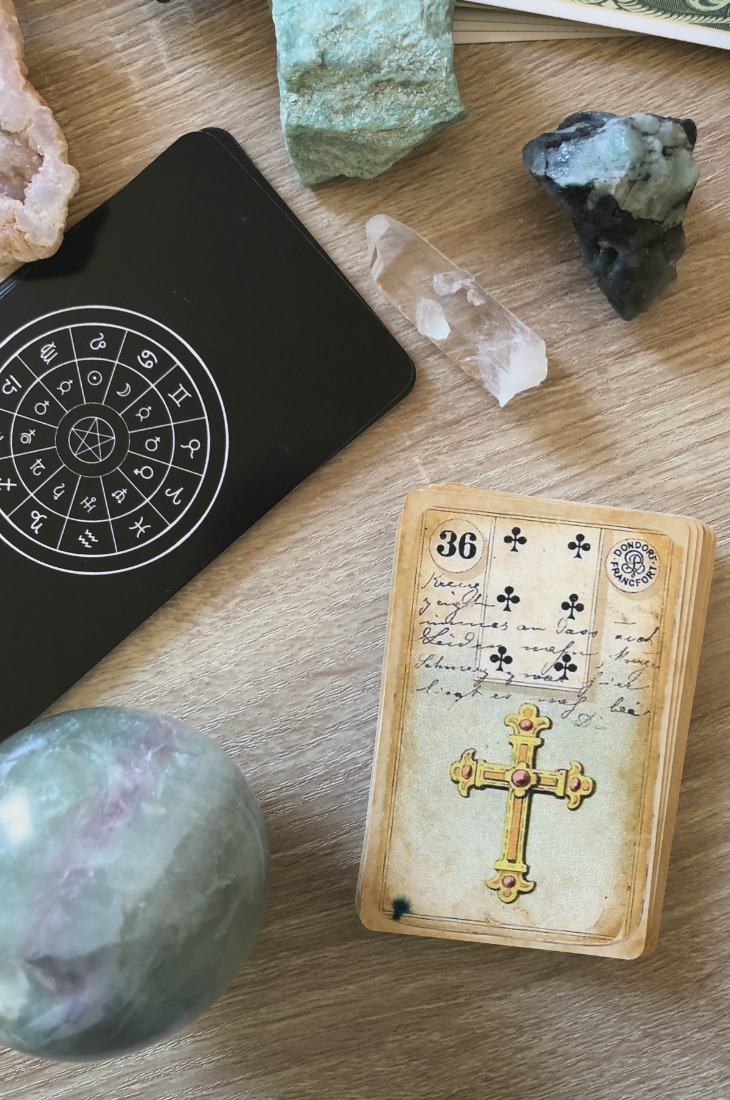 Lenormand Cross card meanings and interpretations. Learn how to read the Lenormand Cross card for general, love, business, money, health and other types of readings. In Lenormand decks, Cross is a card which represents struggles in relationships.