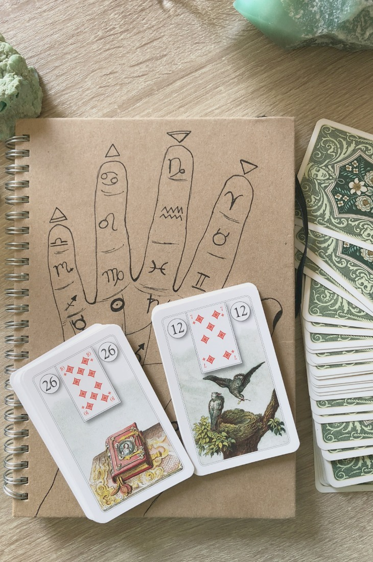 Lenormand Book card combinations and interpretations. Learn how to combine the Lenormand Book card for general, love, business, money, health and other types of readings. Here is how to combine Book with Snake, Sun, Moon, Scythe and other cards in your deck.
