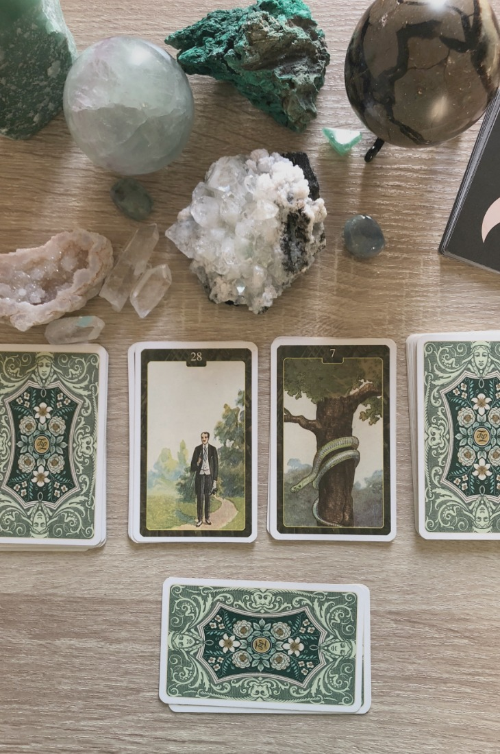 Lenormand Man card combinations and interpretations. Learn how to combine the Lenormand Man card for general, love, business, money, health and other types of readings. Man is known as Gentleman in some decks. Here is how to combine Man with Woman, Moon, Snake, Fish and other cards in your deck.