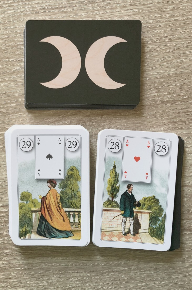 Lenormand Woman card combinations and interpretations. Learn how to combine the Lenormand Woman card for general, love, business, money, health and other types of readings. Woman is known as Lady in some decks. Here is how to combine Woman with Man, Moon, Coffin, Heart, and other cards in your deck.