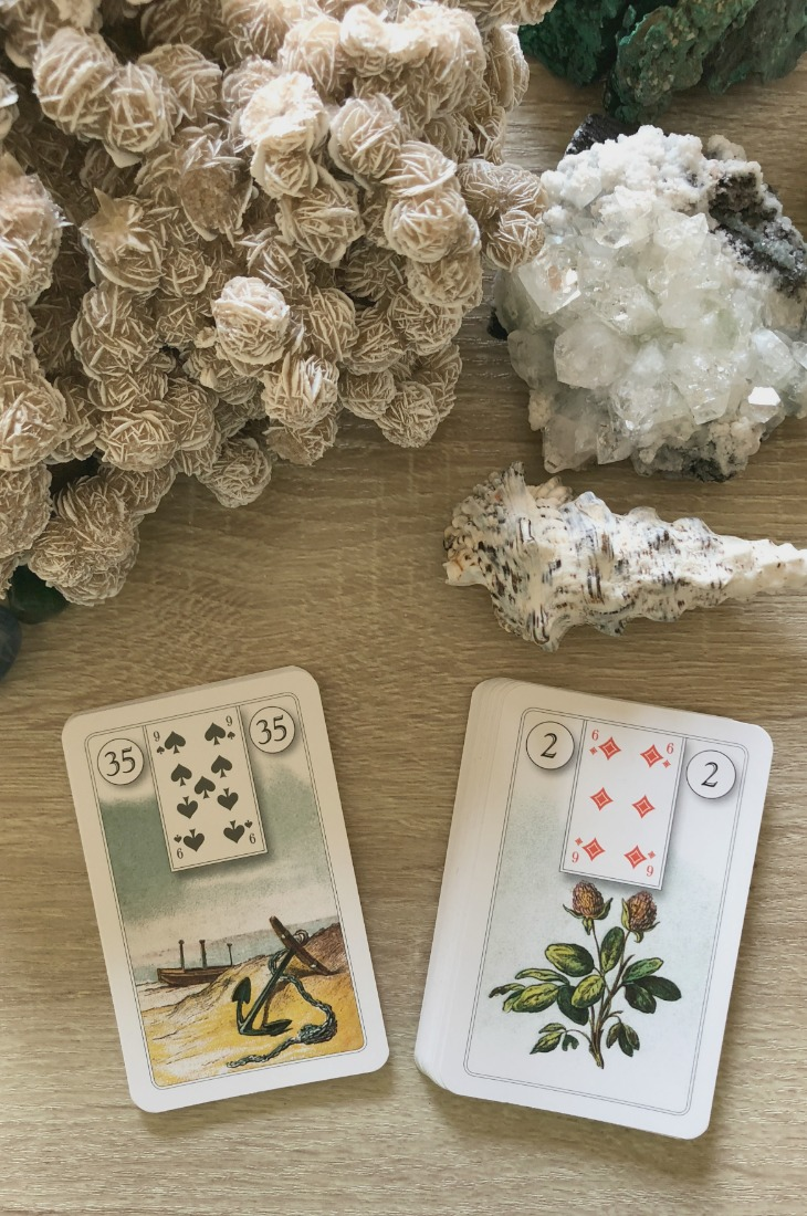 Lenormand Anchor card combinations and interpretations. Learn how to combine the Lenormand Anchor card for general, love, business, money, health and other types of readings. Here is how to combine Anchor with Stork, Tree, Snake, Fox and other cards in your deck.