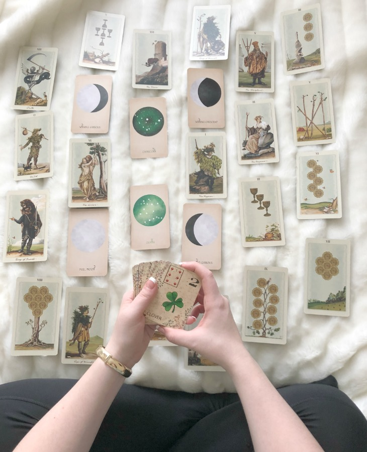 Combining Tarot, Oracle and Lenormand cards can help you to give more detail in your psychic readings. As some deck types are used for fortune-telling and others are used for healing purposes, even the beginner reader will find benefits in mixing all of these systems.