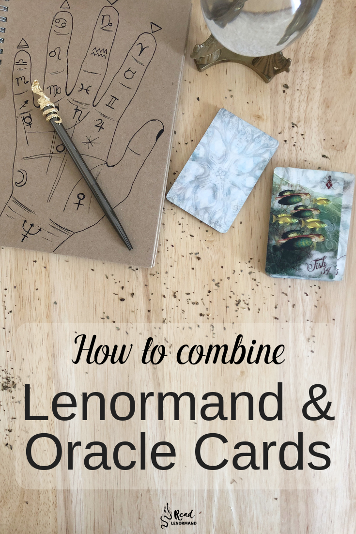 Blog: Are you wondering how I combine Lenormand and Oracle cards? Should you combine Lenormand and Oracle cards? Is it possible that your personal (and professional) readings will be more accurate if you use Lenormand and Oracle cards together? Today, I am going to answer these questions, and give you a sneak peak exactly how I combine Lenormand and Oracle cards!