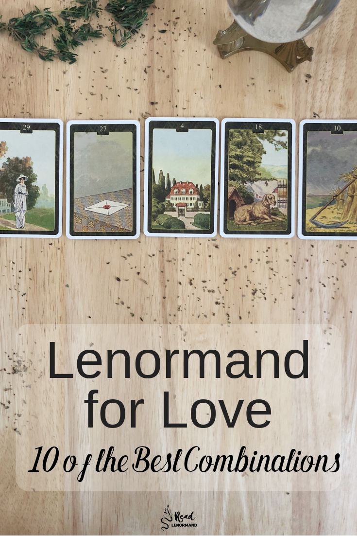 Blog: What are the best Lenormand card combinations for love? Which card combinations should you look for when performing Lenormand readings on relationships? Which Lenormand card combinations predict the best results for relationship outcomes? If you're wanting answers to these questions, then read below!
