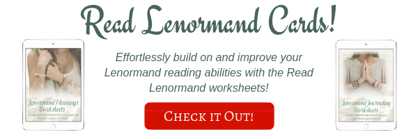 Learn how to read Lenormand cards with worksheets - ad.png