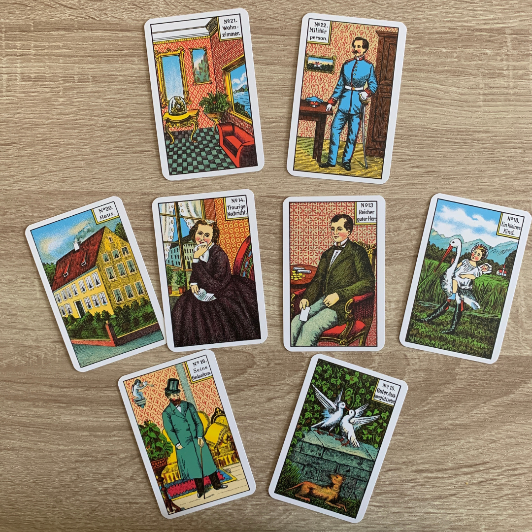 An example of a traditional Kipper card deck.