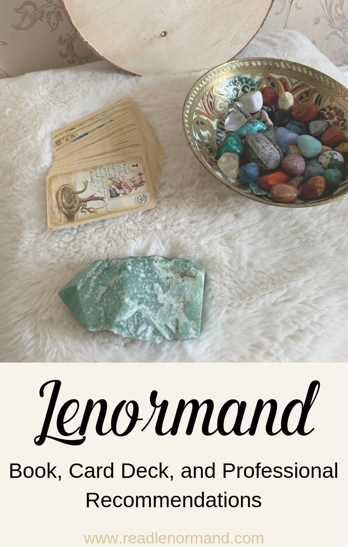 Art Illustration: The best Lenormand card decks, books and resources for beginners and more experienced Lenormand readers alike. Here, you can find my recommended Lenormand card decks and books. Plus, discover the resources I recommended for psychic development, reading development, professional reading, and Lenormand journaling so that you can have the best Lenormand experience possible.